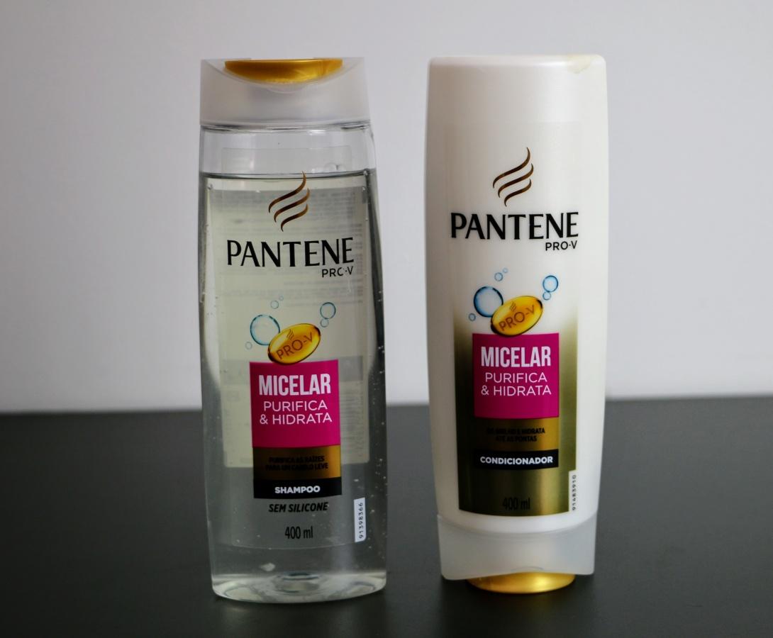 PANTENE MICELAR – SHAMPOO E CONDICIONAR